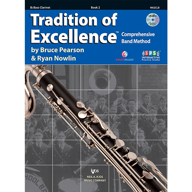 KJOSTradition Of Excellence Book 2 for Bass Clarinet