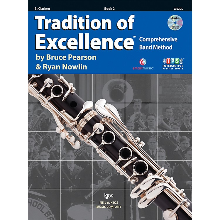 KJOS Tradition Of Excellence Book 2 for Clarinet
