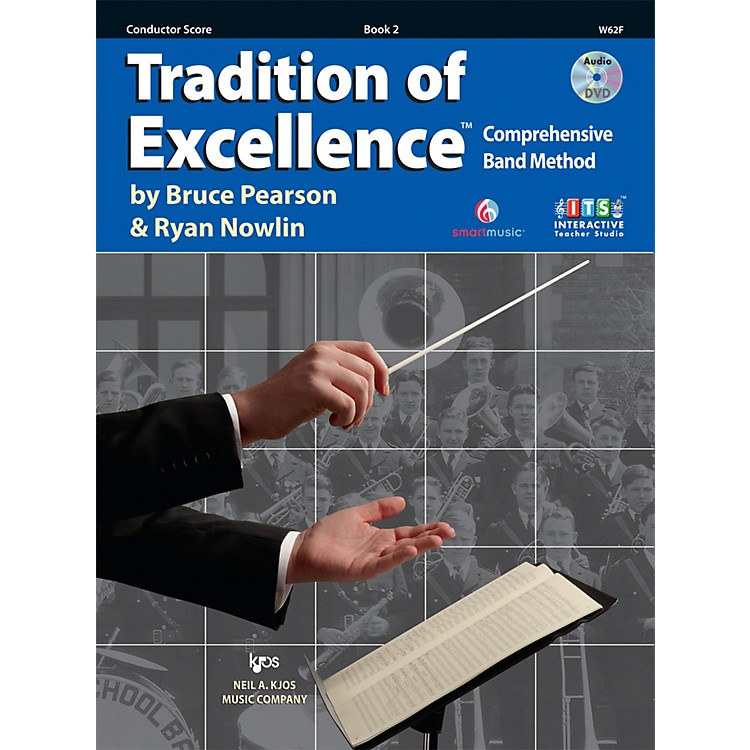KJOSTradition Of Excellence Book 2 for Conductor