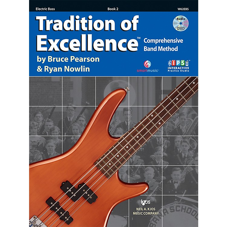 KJOSTradition Of Excellence Book 2 for Electric Bass