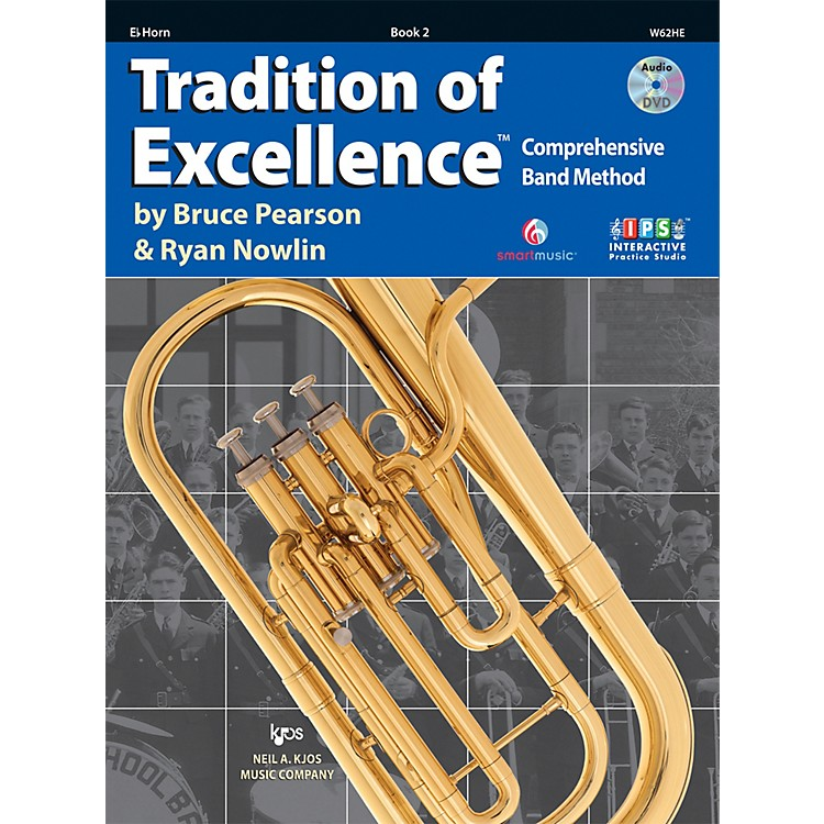 KJOSTradition Of Excellence Book 2 for Horn E Flat