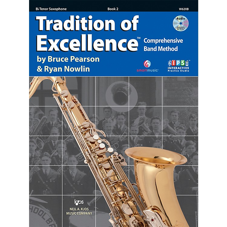 KJOSTradition Of Excellence Book 2 for Tenor Sax