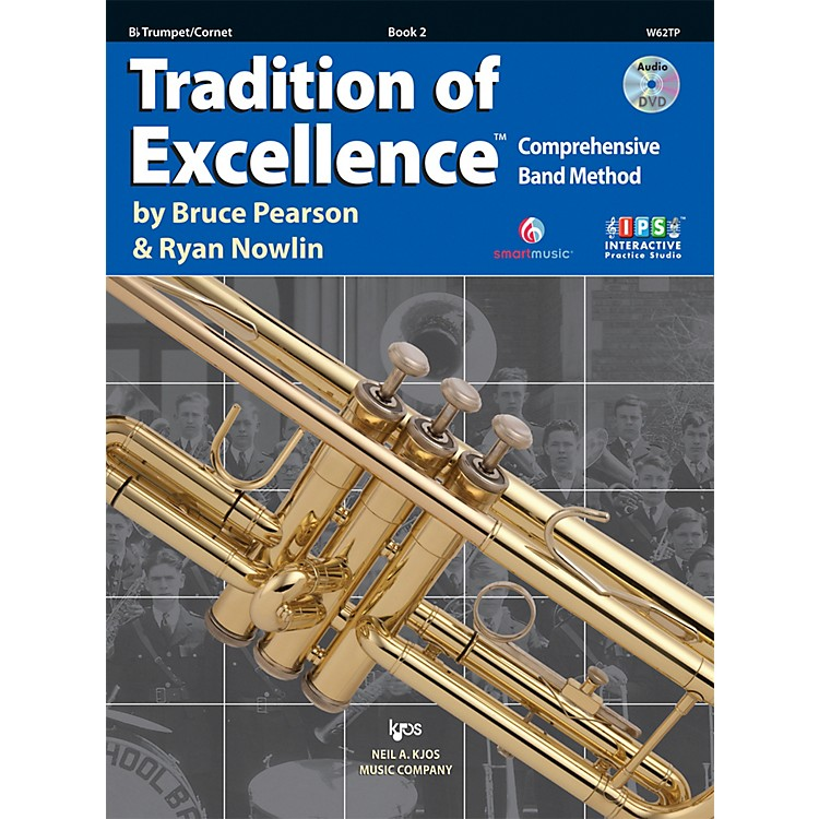 KJOSTradition Of Excellence Book 2 for Trumpet