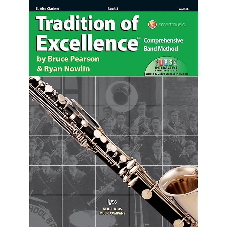KJOS Tradition of Excellence Book 3 Alto clarinet