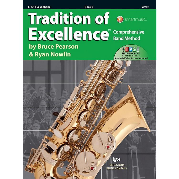 KJOSTradition of Excellence Book 3 Alto sax