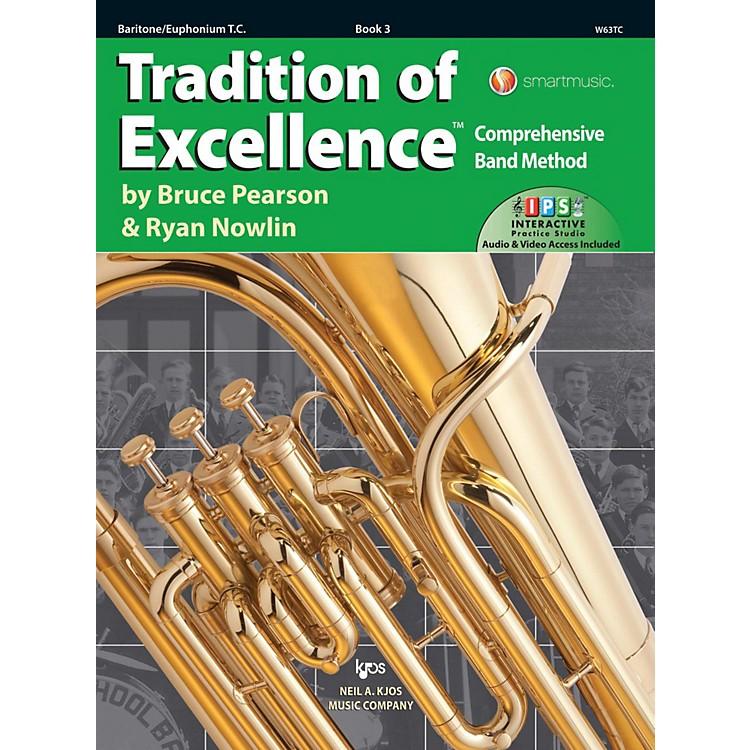 KJOSTradition of Excellence Book 3 Baritone/euphonium TC