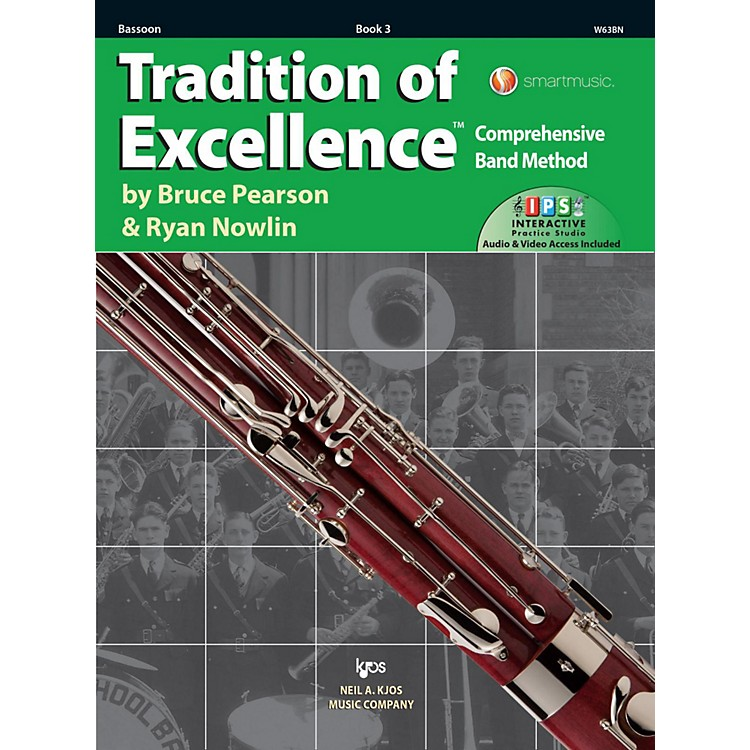 KJOSTradition of Excellence Book 3 Bassoon