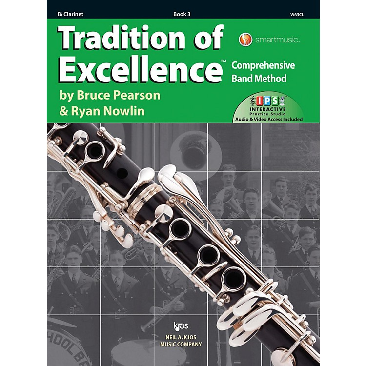KJOSTradition of Excellence Book 3 Clarinet