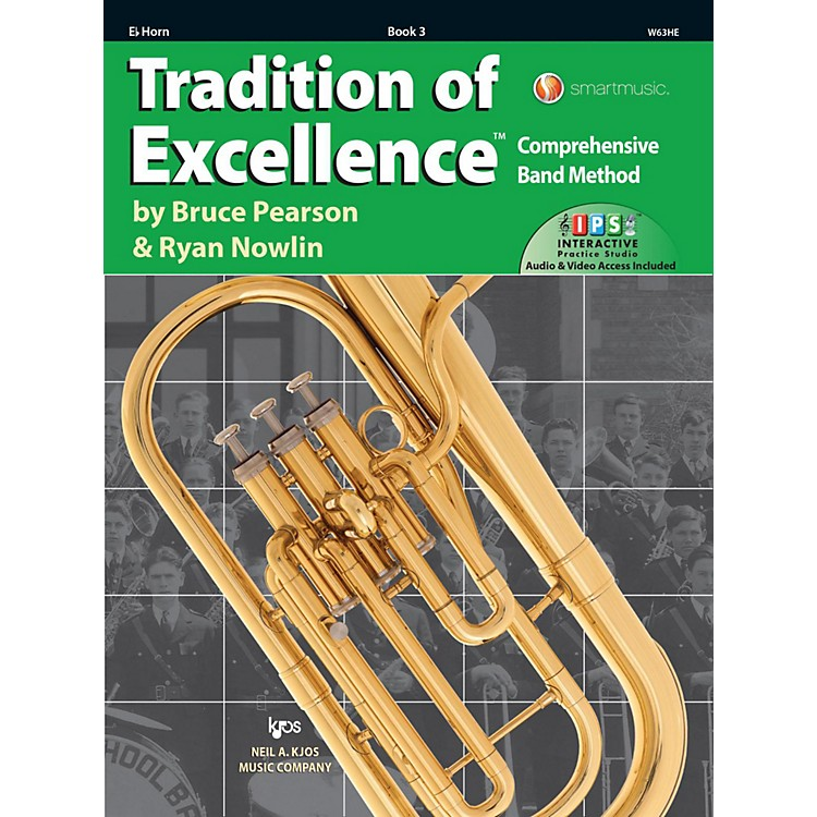 KJOSTradition of Excellence Book 3 Eb Horn