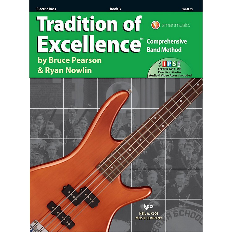 KJOSTradition of Excellence Book 3 Electric bass
