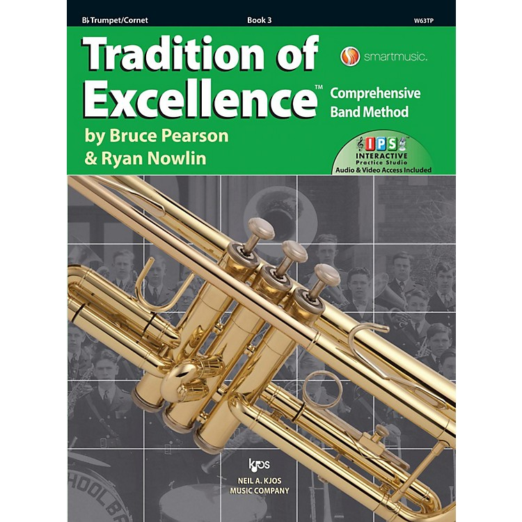 KJOSTradition of Excellence Book 3 Trumpet