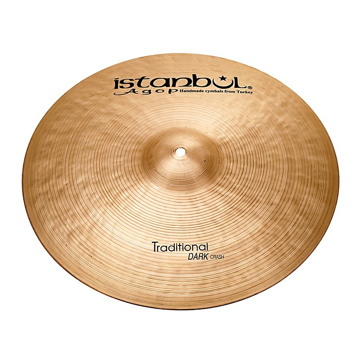 Istanbul Agop Traditional Dark Crash Cymbal 19 in.