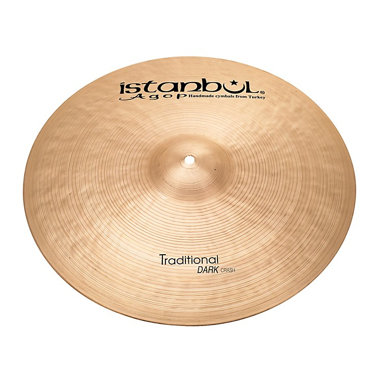 Istanbul Agop Traditional Dark Crash Cymbal 20 in.