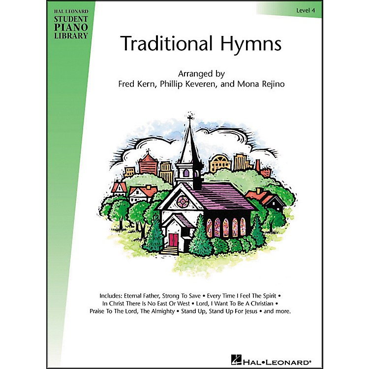 Hal LeonardTraditional Hymns Level 4 Hal Leonard Student Piano Library