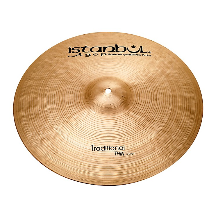 Istanbul Agop Traditional Thin Crash Cymbal 20 in.