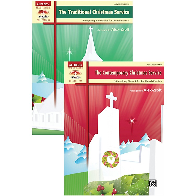 AlfredTraditional and Contemporary Christmas Service Value Pack