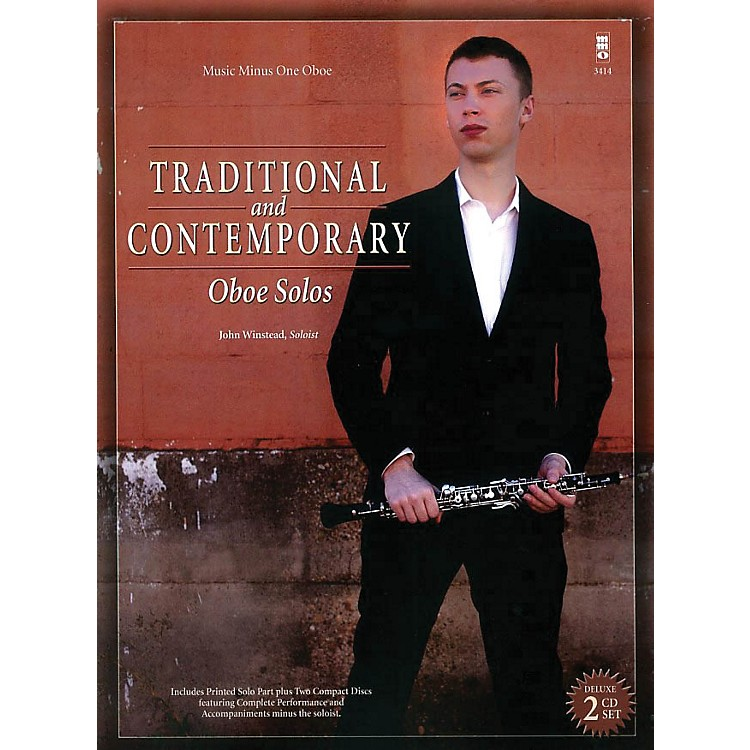 Music Minus OneTraditional and Contemporary Oboe Solo Music Minus One Series BK/CD
