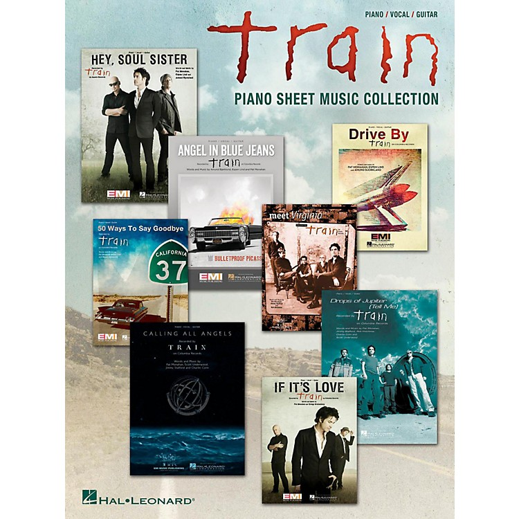 Hal LeonardTrain - Piano Sheet Music Collection for Piano/Vocal/Guitar