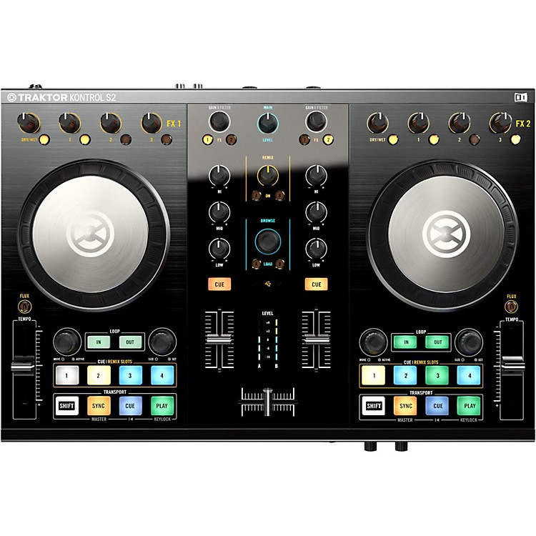 Native Instruments Traktor Kontrol S2 MK2 with Lightning Cable