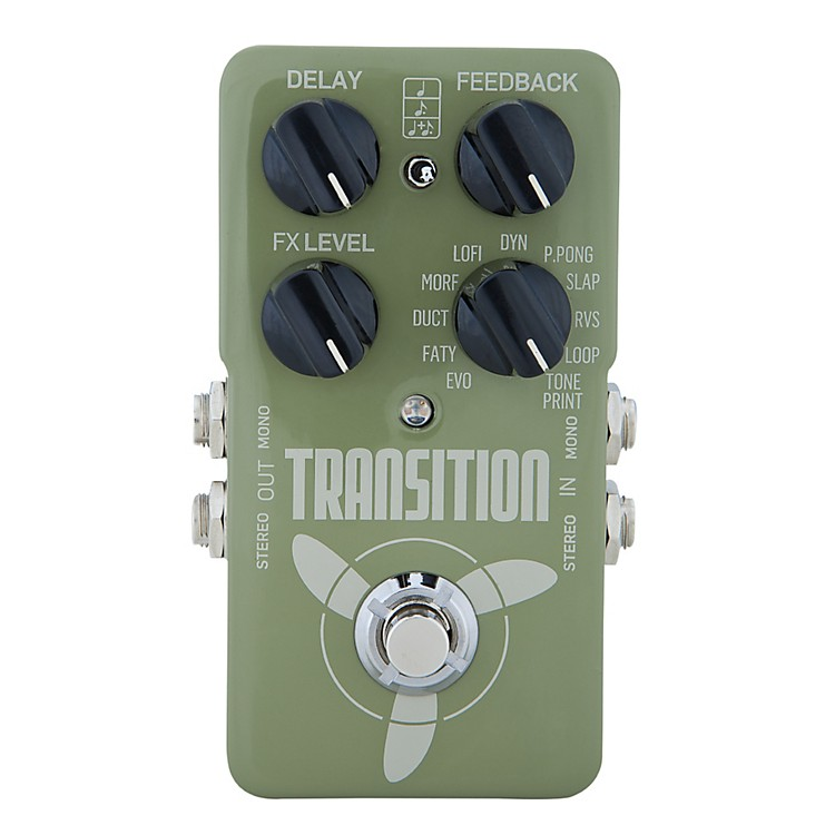TC Electronic Transition Delay Pedal