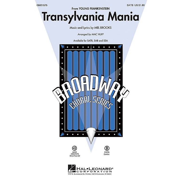 Hal Leonard Transylvania Mania (from Young Frankenstein) ShowTrax CD Arranged by Mac Huff