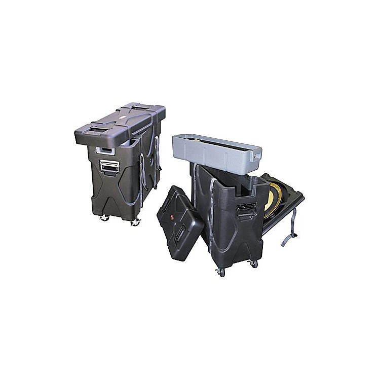 SKBTrap-X2 Roto-X Trap Case with Cymbal Vault