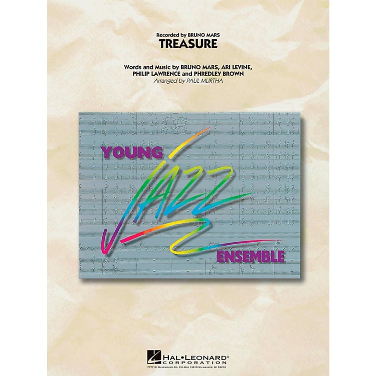 Hal Leonard Treasure - Young Jazz (Jazz Ensemble) Level 3