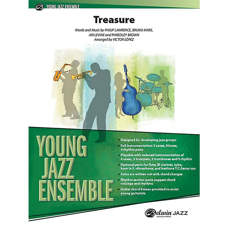 Alfred Treasure Jazz Band Grade 2 Set