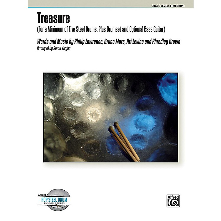 AlfredTreasure Steel Drum Ensemble Score & Parts
