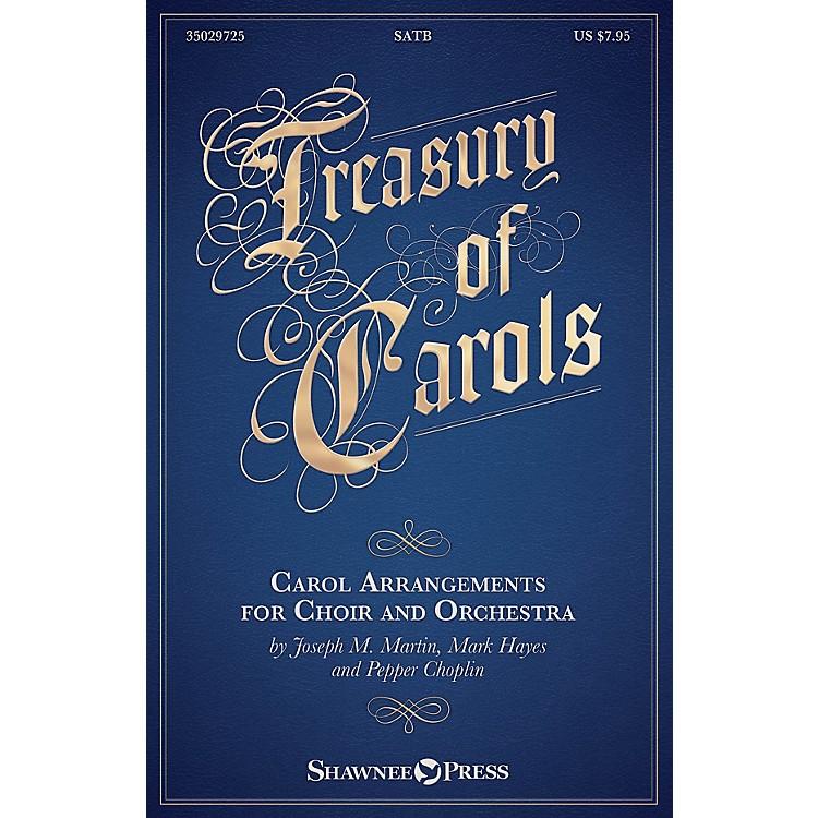 Shawnee PressTreasury of Carols (Carol Arrangements for Choir and Orchestra) Studiotrax CD by Joseph M. Martin