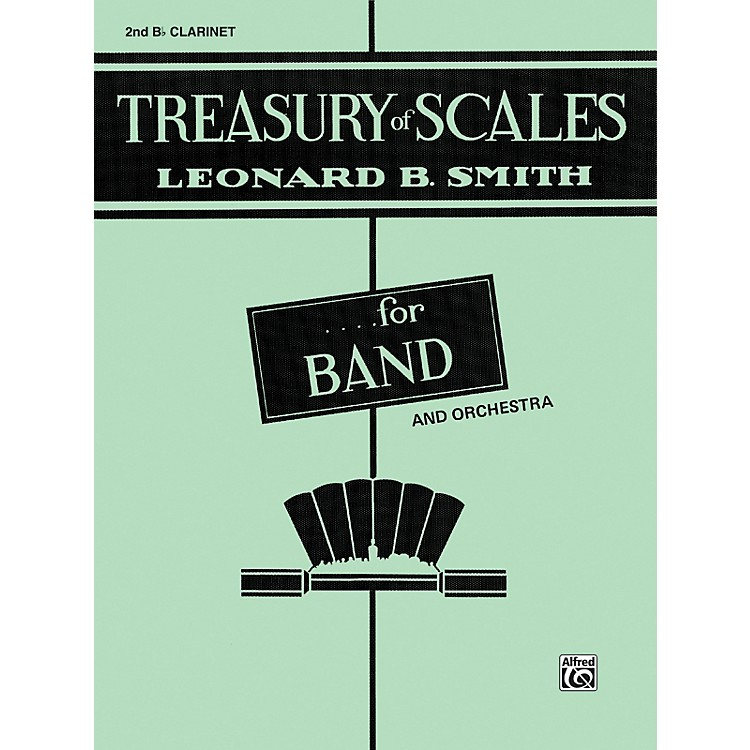 AlfredTreasury of Scales for Band and Orchestra 2nd B-Flat Clarinet