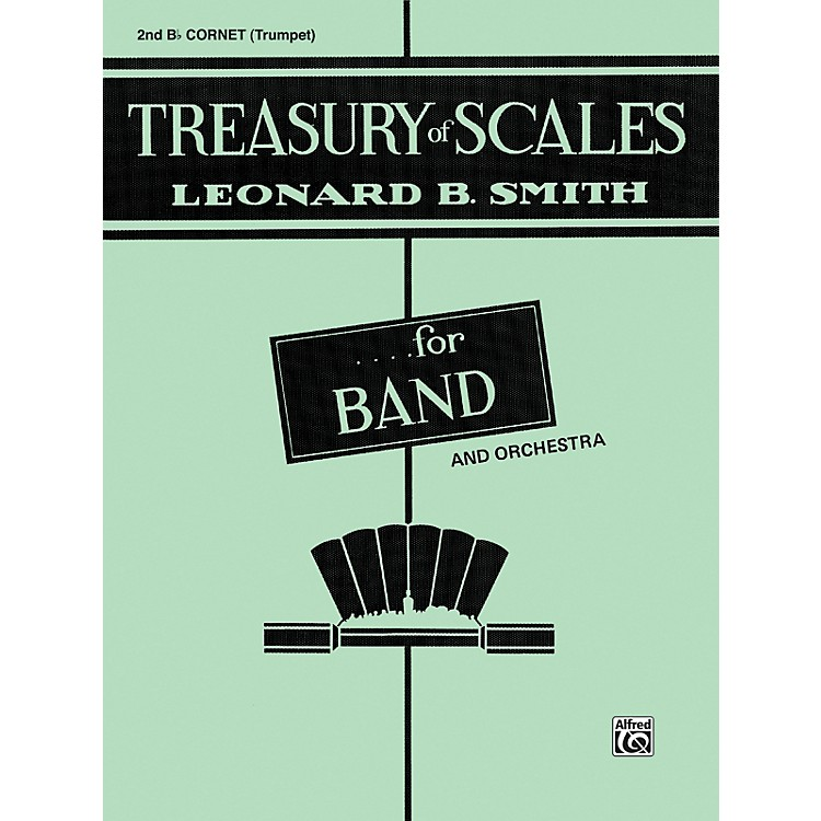 Alfred Treasury of Scales for Band and Orchestra 2nd B-Flat Cornet