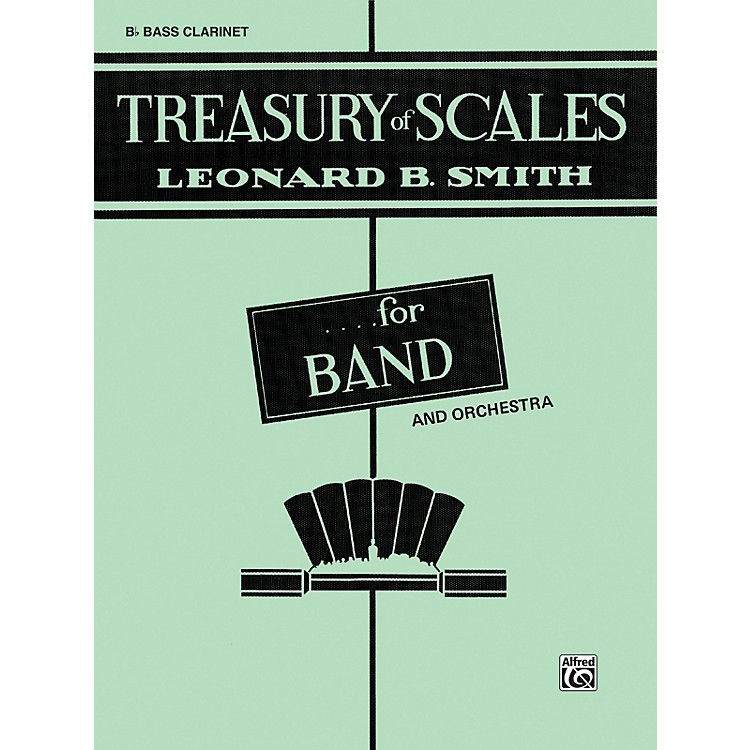 AlfredTreasury of Scales for Band and Orchestra B-Flat Bass Clarinet