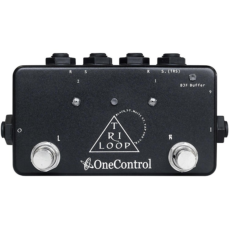 One ControlTri Loop Effects Switcher Pedal