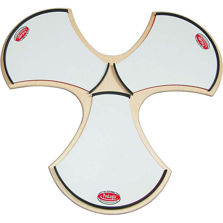 ProLogix Percussion Tri-Sectional Practice Pad White Corps