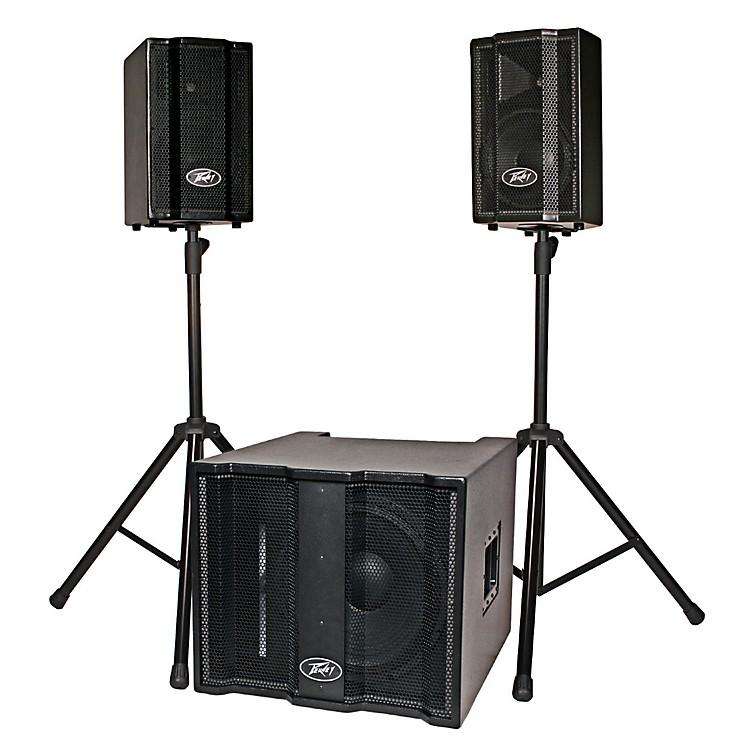 PeaveyTriFlex II 1000W Three-Piece, Two-Channel Sound System