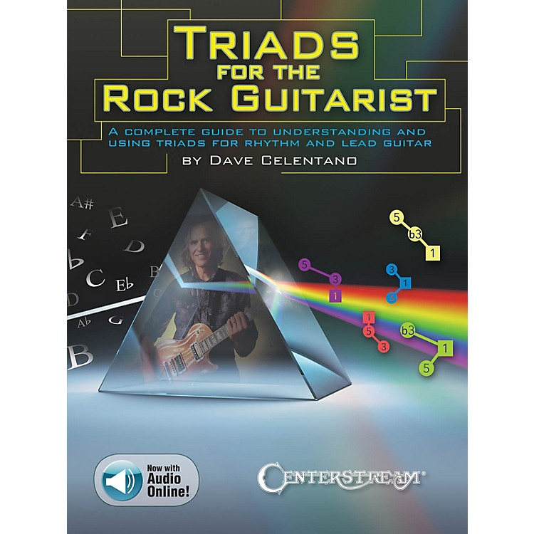 Centerstream Publishing Triads for the Rock Guitarist Guitar Series Softcover Audio Online Written by Dave Celentano