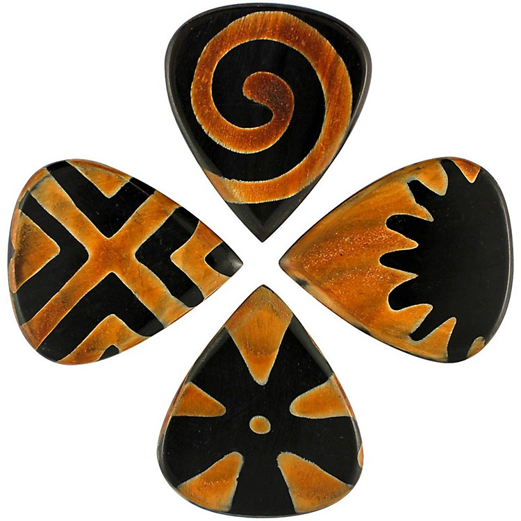 Timber Tones Tribal Tones Mixed Bag of 4 Guitar Picks