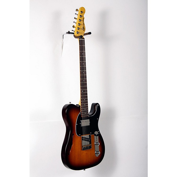 G&L Tribute ASAT Classic Bluesboy Semi-Hollow Electric Guitar Tobacco Sunburst,  Rosewood Fretboard 888365831787