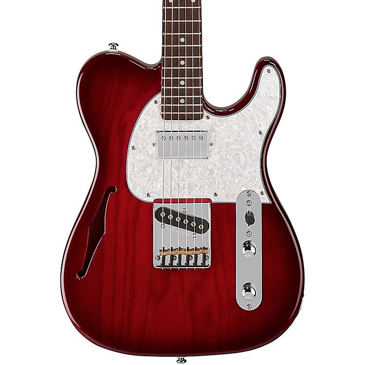 G&LTribute ASAT Classic Bluesboy Semi-Hollow Electric GuitarRed Burst