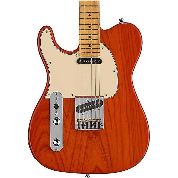 G&LTribute ASAT Classic Left-Handed Electric GuitarClear Orange