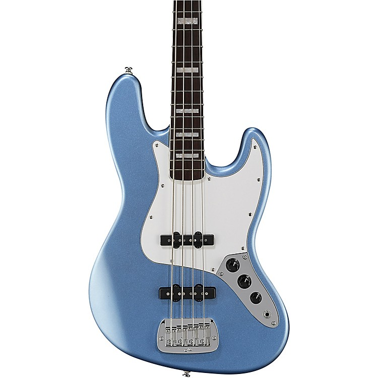 G&LTribute JB Electric Bass Brazilian Cherry FingerboardLake Placid Blue