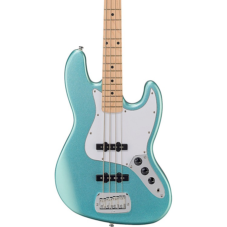G&L Tribute JB Electric Bass Turquoise Mist