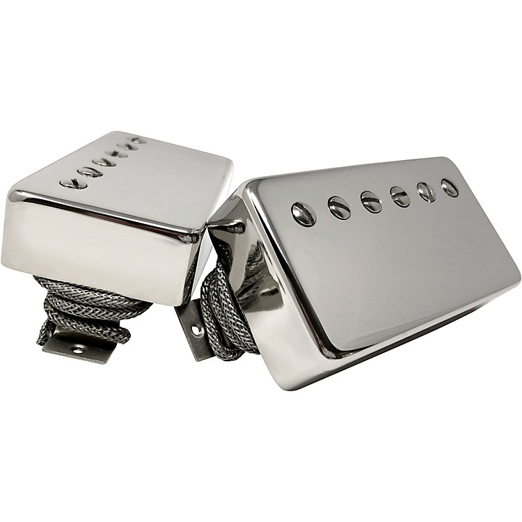SheptoneTribute PAF Style Humbucker Set with Nickel CoversNickel Cover