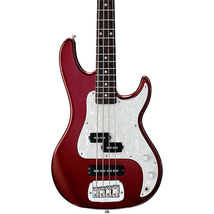 G&LTribute SB2 Electric Bass GuitarBordeaux RedRosewood Fretboard