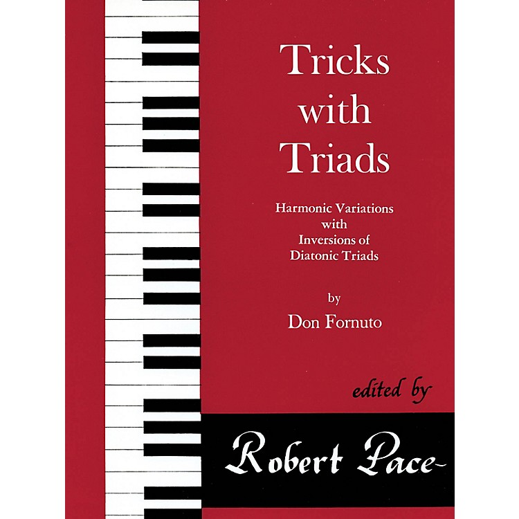 Lee Roberts Tricks with Triads - Set II Pace Piano Education Series Composed by Don Fornuto