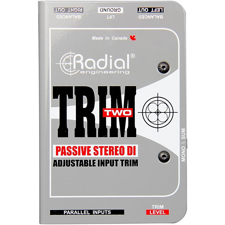 Radial EngineeringTrim-Two Passive DI for AV with Level Control
