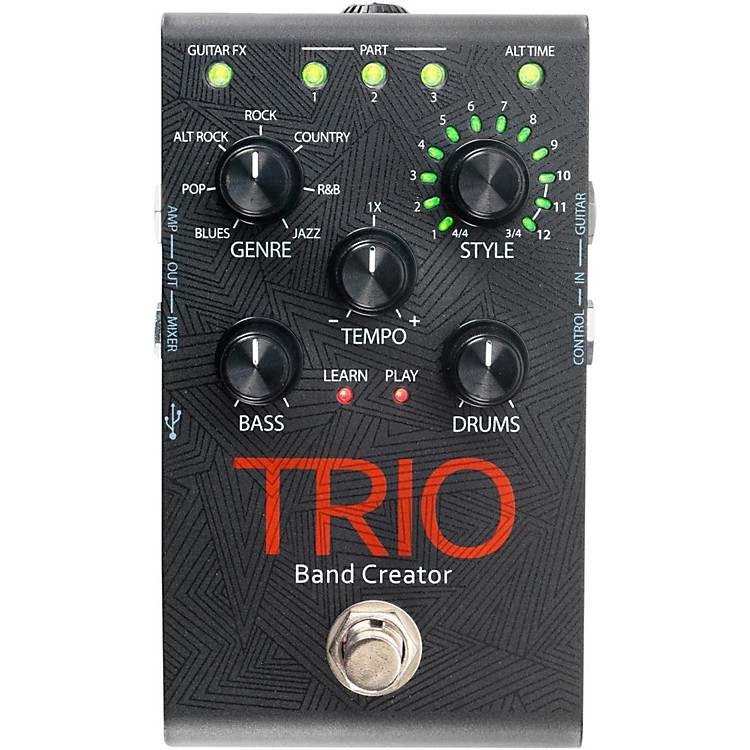 DigiTechTrio Band Creator Guitar Effects Pedal
