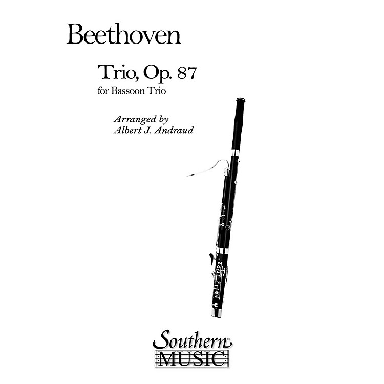 Southern Trio, Op 87 (Bassoon Trio) Southern Music Series Arranged by Albert Andraud