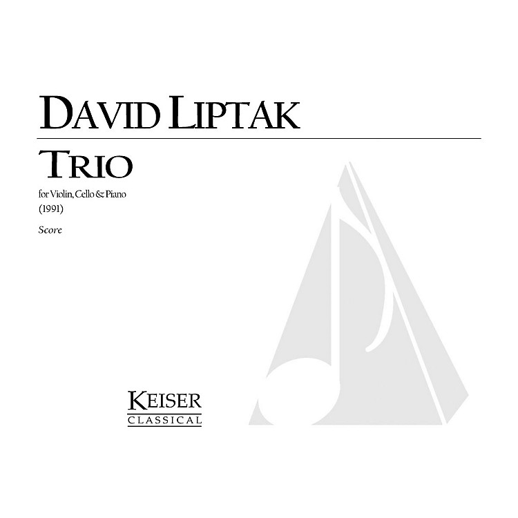 Lauren Keiser Music Publishing Trio (for Viola, Percussion and Piano) LKM Music Series Composed by David Liptak